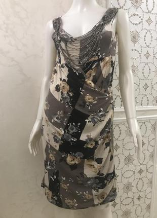 Трикотажное платье blugaya италия