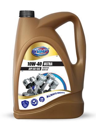 Моторное масло ULTRA 10W-40 VAMP 4л.