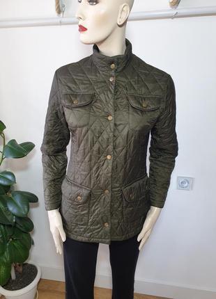Демисезонная стеганая куртка barbour