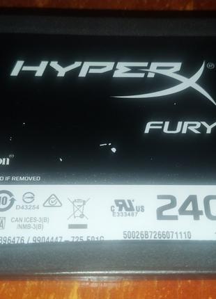 SSD Kingston HyperX Fury 240GB SATAIII