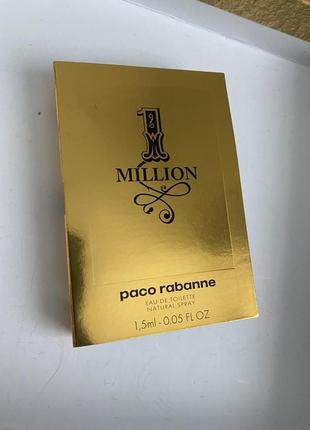 Пробник paco rabanne 1 million