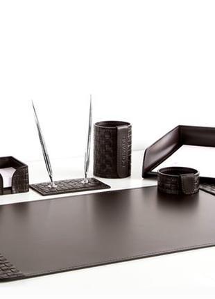 Канцелярские  кожаные наборы на стол для руководителя Buvardo