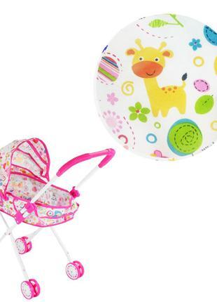 Металлическая коляска с люлькой, коляска для куклы