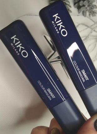 Цветная тушь кико синяя голубая kiko кико