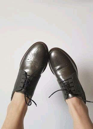 Туфли кожаные Clarks 38 розмер
