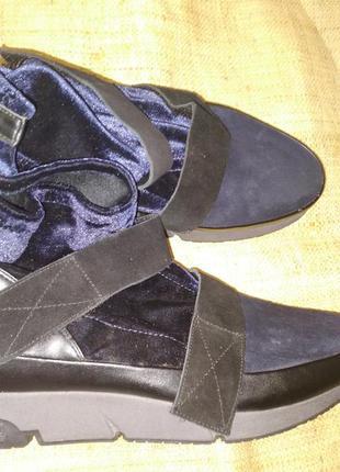 39р-25.5-26 новые ботинки cili cubed portugal обувь класа люкс