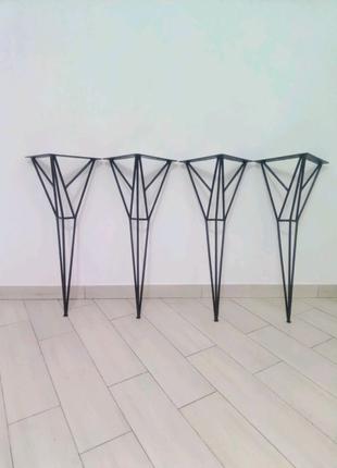 Ножка,опора для стола метал в стилі loft