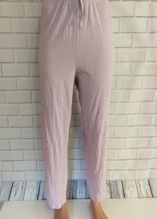 Штаны для дома и сна , пижамные штаны в горошек /арт.02