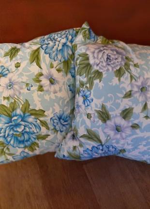 Подушка перьевая 2шт, подушка из перьев