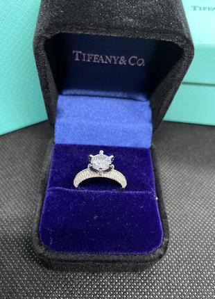 Женское серебряное кольцо в стиле tiffany&co🔥серебро 925 пробы
