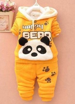 Теплый костюм на малышку