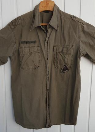 Рубашка military