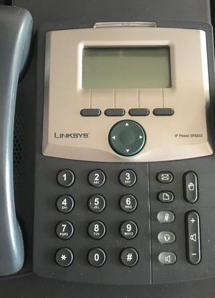 Телефон Cisco IP Phone Linksys SPA922 (+blok)