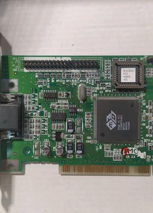 Ati 3D RAGE 2 II || PCI VGA Видеокарта восстановленная