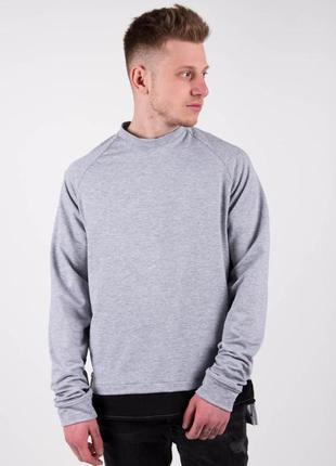 Свитшот мужской дизайнерский серый / світшот чоловічий кофта...