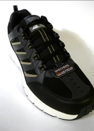 Skechers escape черные кроссовки туфли оксфорд оригинал скечерс