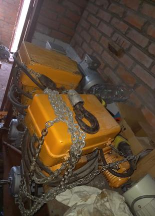 Электротельфер 125 кг  250 кг  новые с запаса
