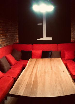 Стола Дуб  Для Рестаранов Баров Кафе ( комплекты для стола )