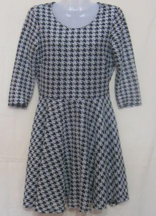 Платье женское  миди с рукавом river island, 42р-р. Дешево Цвет -