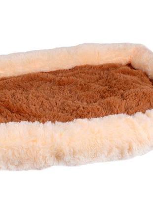 Лежанка шик для собак и кошек серии уют 80x62x8 см