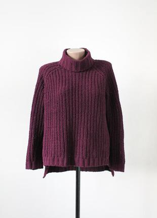 Бордовий светр select