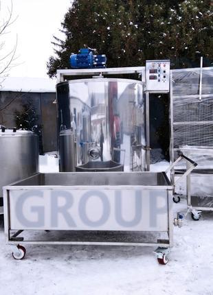 Линия по переработке молока 100 л, 200 л, 300 л, 500 л