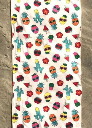 Пляжное полотенце, подарок, стильное, яркое