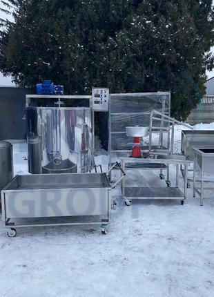 Цех по переработке молока 500 л, 1000 литров/ Цех переробки