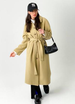 Кашемировое тренч пальто
