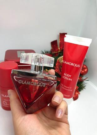 Подарочный парфюмерный набор glamorous farmasi