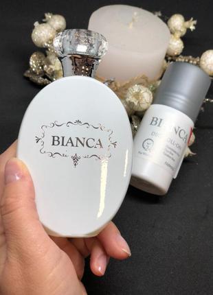 Набор женская парфюмированная вода и дезодорант bianca farmasi