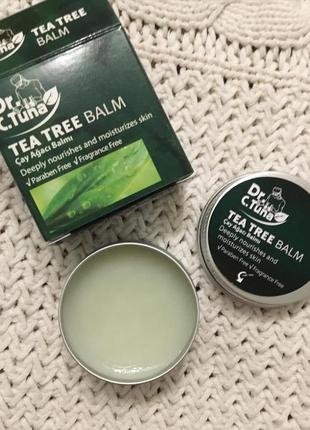 Бальзам с маслом чайного дерева farmasi dr tuna