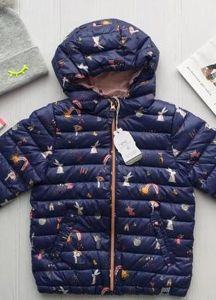 Нова стильна демісезонна куртку next розм. 110,116 і 122