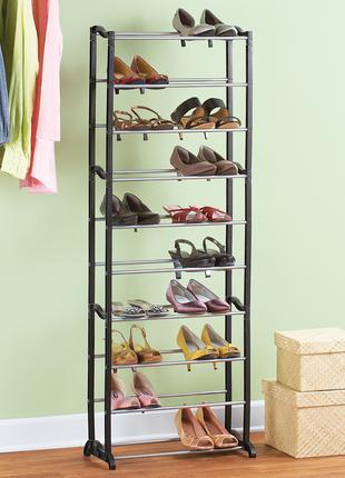 Полка телескопическая для обуви Amazing Shoe Rack