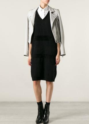 Платье свитер fendi, оригинал, 44 размер бренда