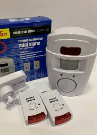 Сенсорна сигналізація Remote Controlled Mini Alarm