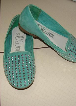 Красивые туфли s.oliver 35-36 р