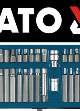 Набор профессиональных бит Torx, Spline, Нех Yato YT-0400