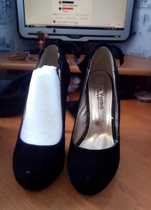 Туфли,замшевые
