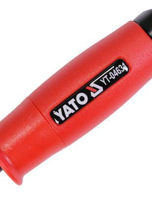 Угловой магнитный держатель для бит шуруповерта Yato YT-04631
