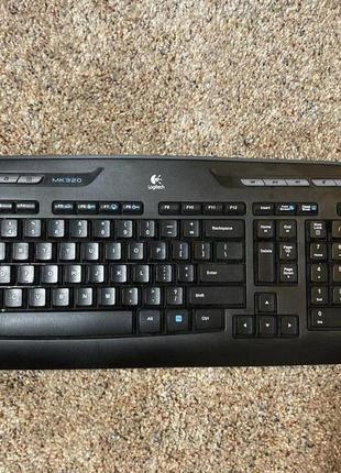 Клавиатура Logitech Wireless Combo MK320 практически новая
