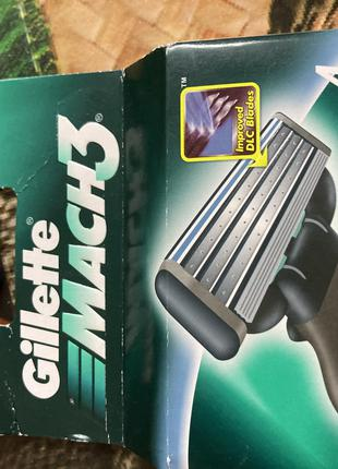 Сменные картриджи Gillette Mach3 4 штуки