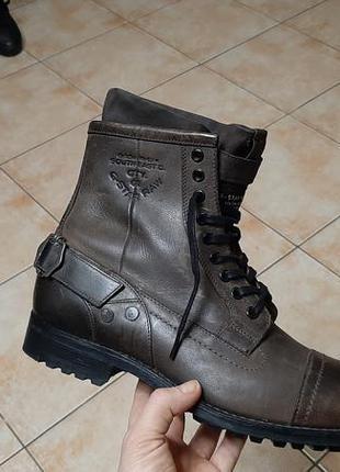 Кожаные сапоги,ботинки,ботильоны  g-star (джи-стар) raw