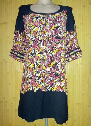Легкое вискозное платье ,44-46разм,monsoon,индия.
