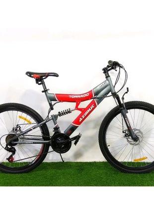 Велосипед 26 Azimut 19-FR/D TORNADO Пол Унисекс