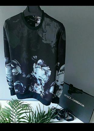 Свитшот, свитер в стиле Dolce&Gabbana