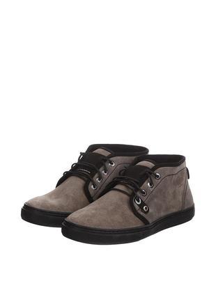 Ботинки бренд kersi замша серый 43-44