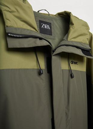 Куртка ветровка от zara