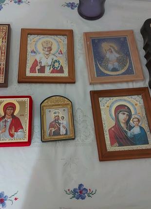 Иконы освященные