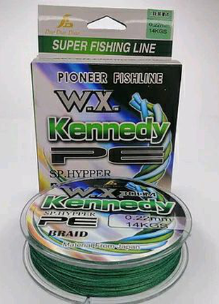 Шнур Kennedy 300m Green.